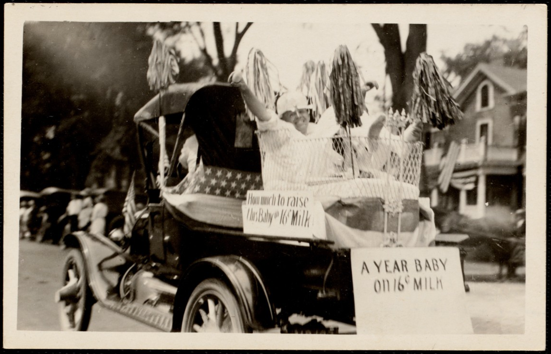 4th of July Parade, 1921. Photo by E.C. Newtons
