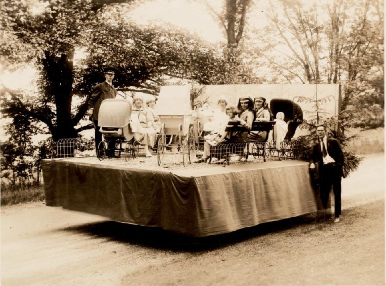 Lenox 4th of July Parade, 1923.