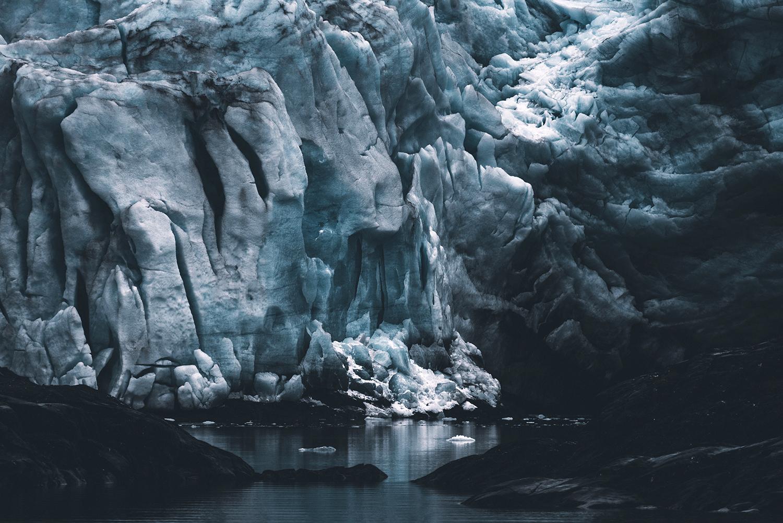 Nordenskiöld glacier, Spitsbergen , from the series  Memento Mori ,  Jan Erik Waider