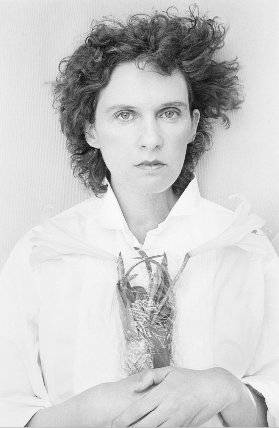 Self-portrait and Lily, 1973