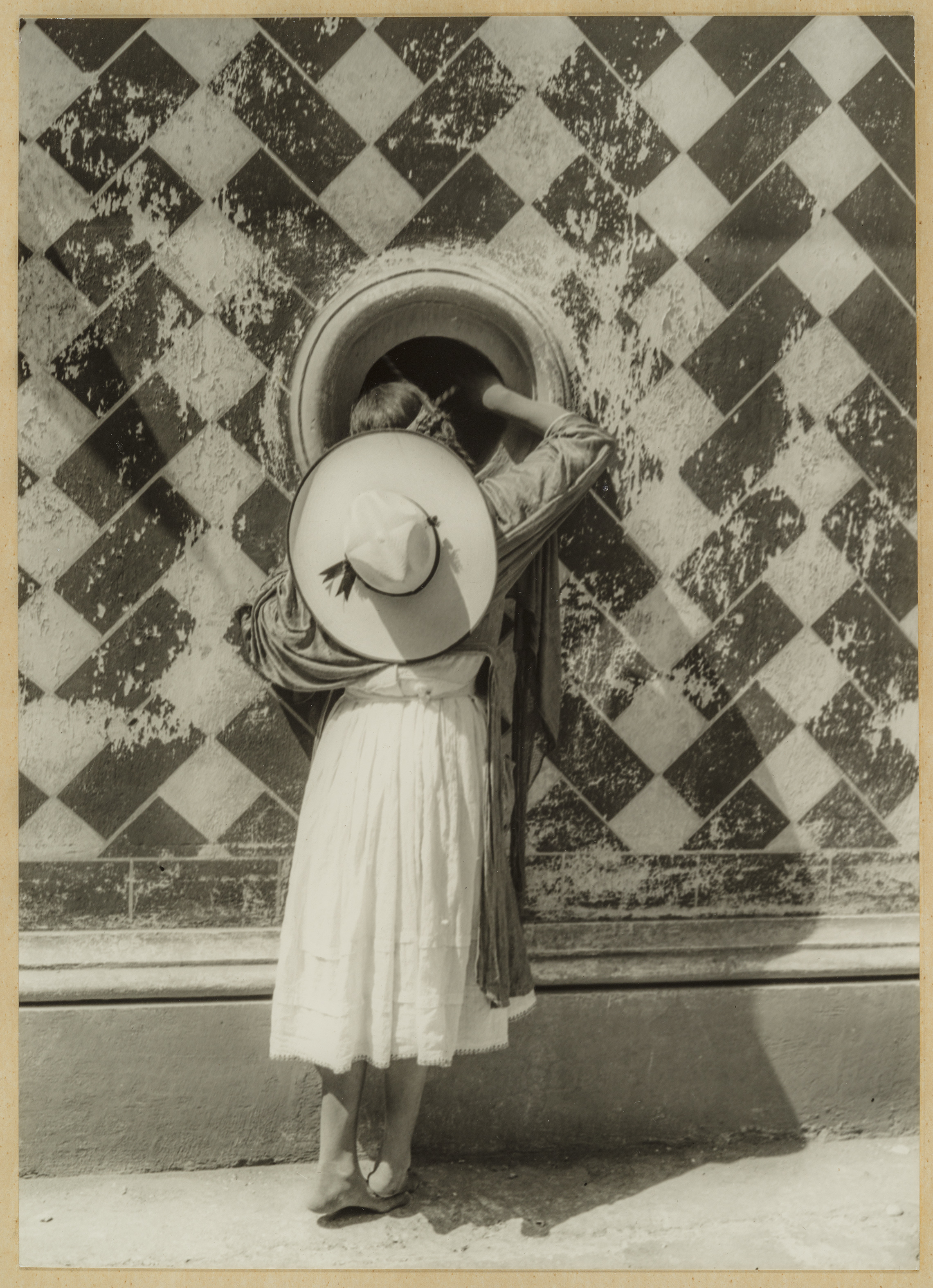 The Daughter of the Dancer, 1933  by Manuel Alvarez Bravo (Mexican, 1902–2002). Photograph, gelatin silver print *The Howard Greenberg Collection—Museum purchase with funds donated by the Phillip Leonian and Edith Rosenbaum Leonian Charitable Trust/Courtesy, Museum of Fine Arts, Boston