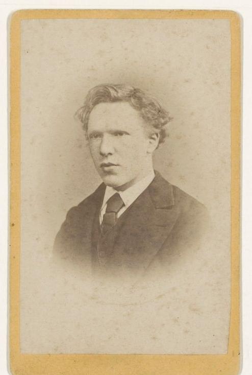 Vincent van Gogh, photograph by Jacobus de Louw, The Hague, January 1873, Van Gogh Museum, Amsterdam (Vincent van Gogh Foundation) (b4784)