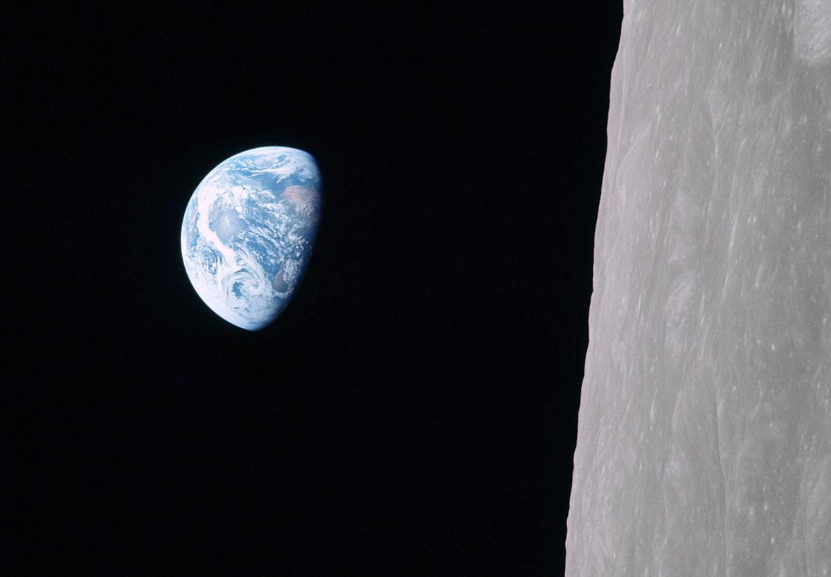 Earthrise. Photo courtesy Bill Anders / NASA