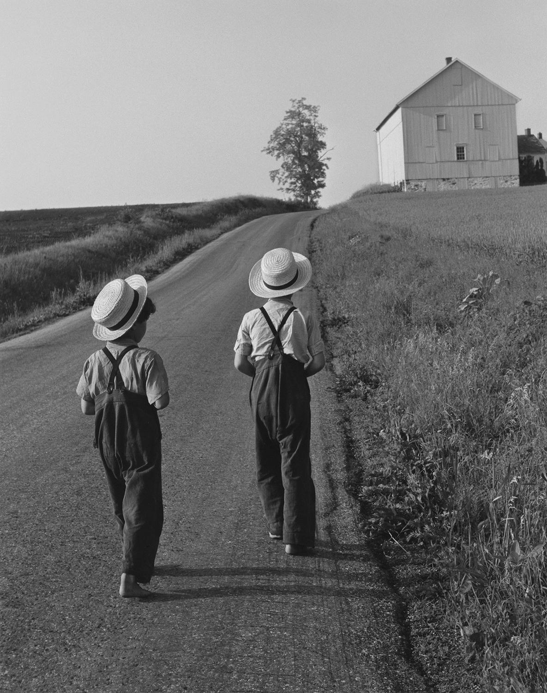 Two Amish Boys, Lancaster, Pennsylvania, 1962