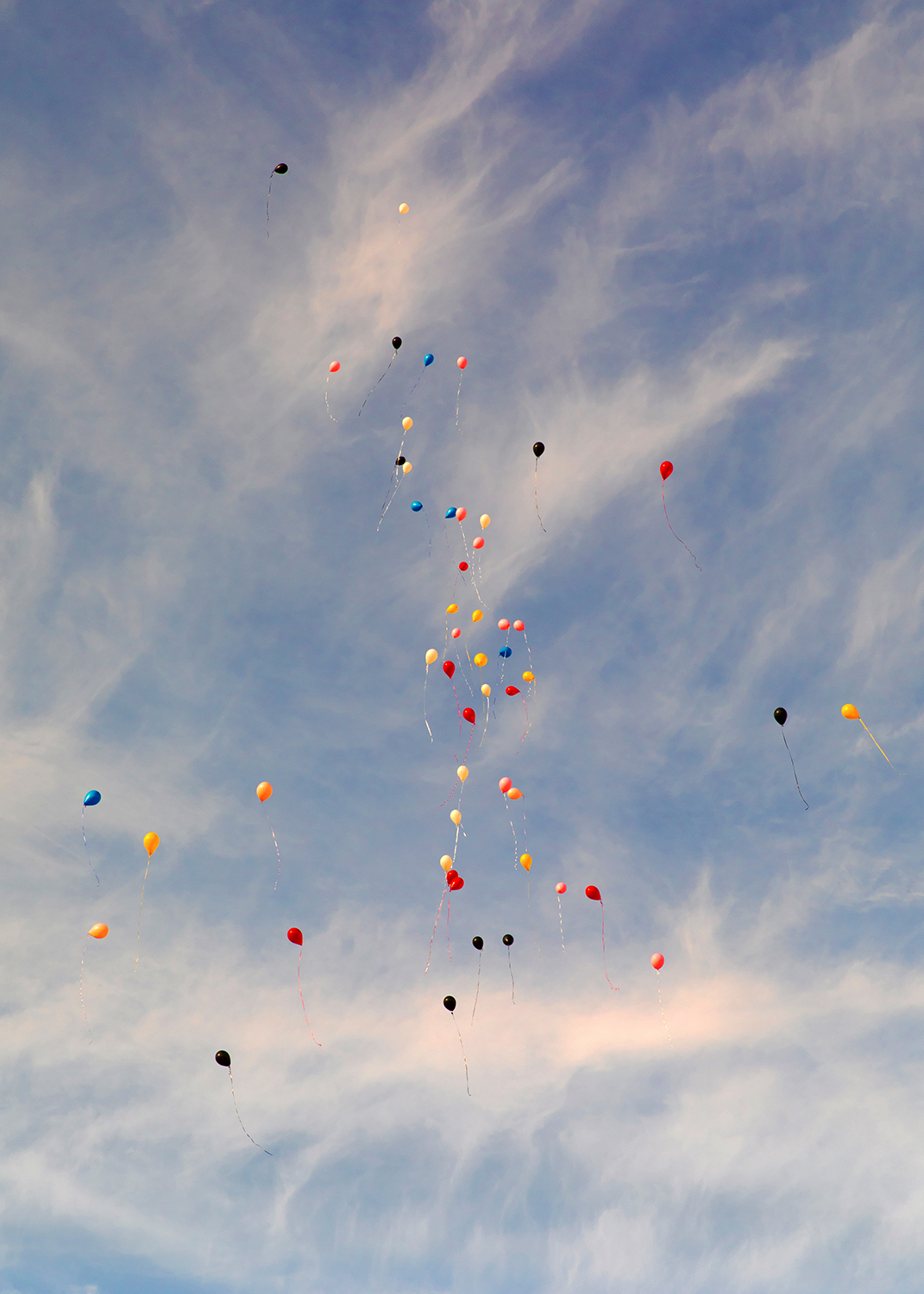Untitled (Balloons and Clouds) ,  Levi Mandel
