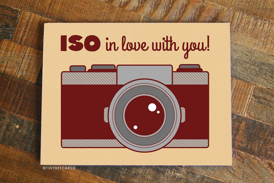 ISO in Love With you by  Tiny Bee Cards