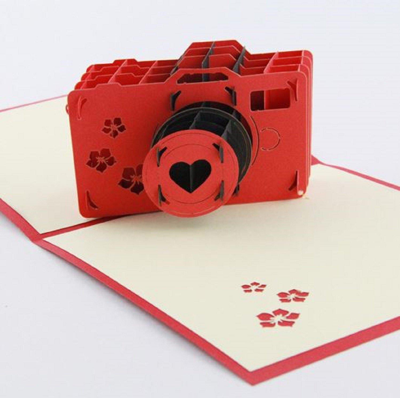 3D pop-up card by  BC Worldwide LTD