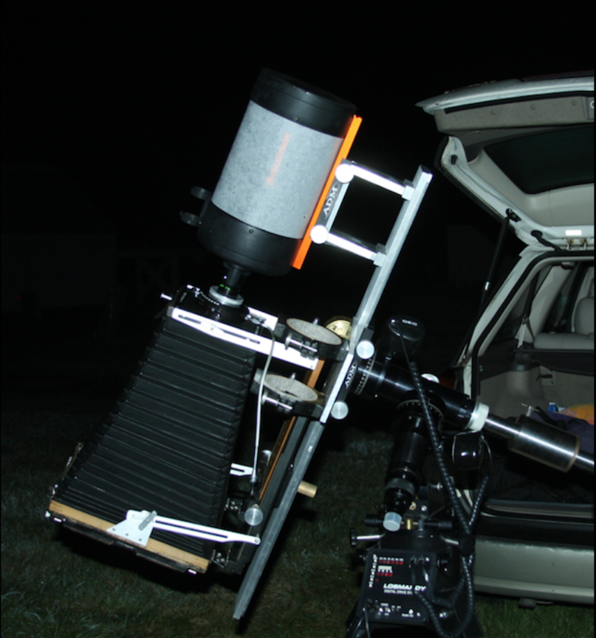 Barbara Bosworth's 8x10 view camera.
