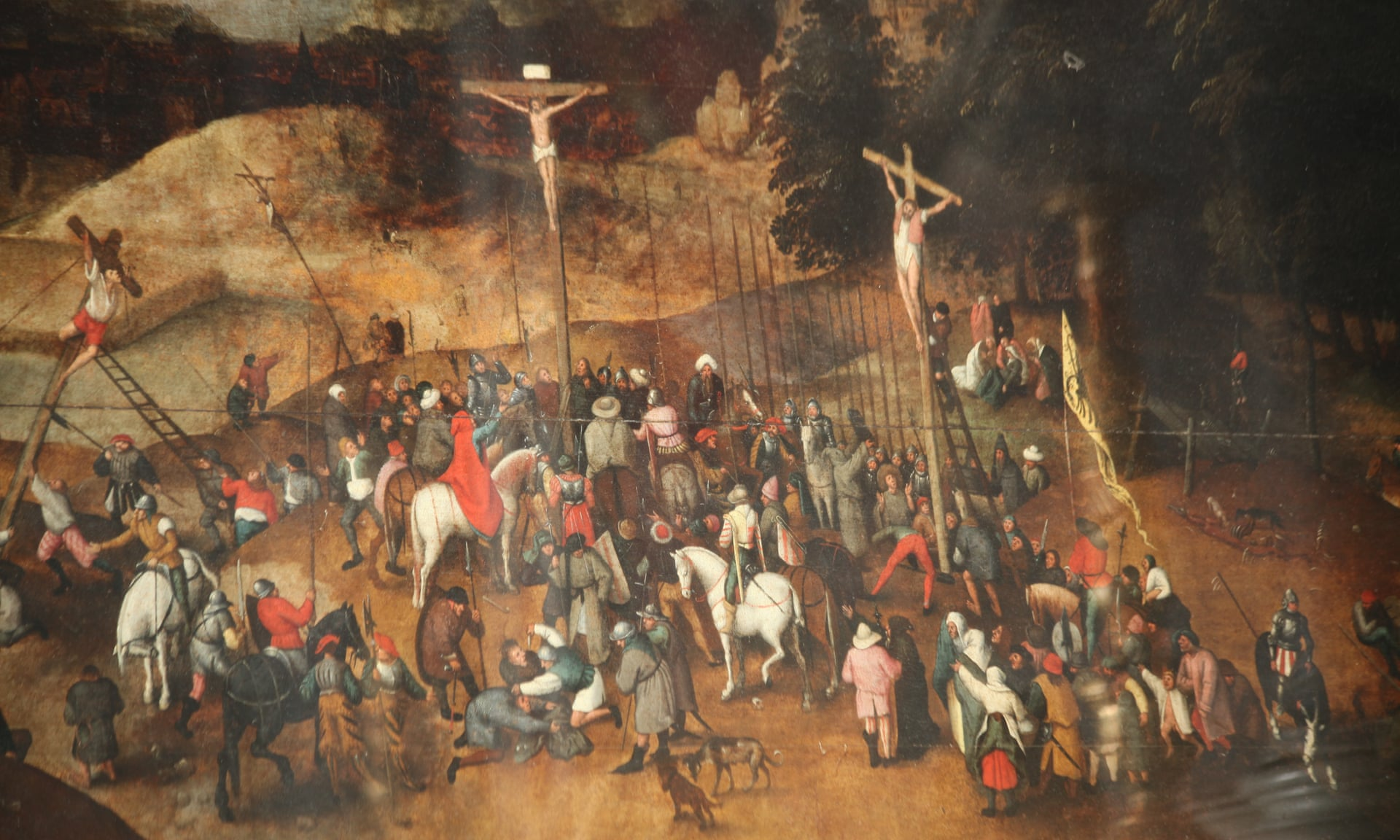 The Crucifixion by Pieter Brueghel the Younger.