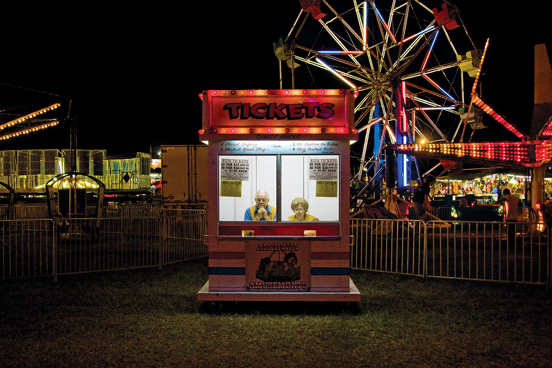 Ticket Booth, Dallas County, AL, 2007 ,  Jerry Siegel