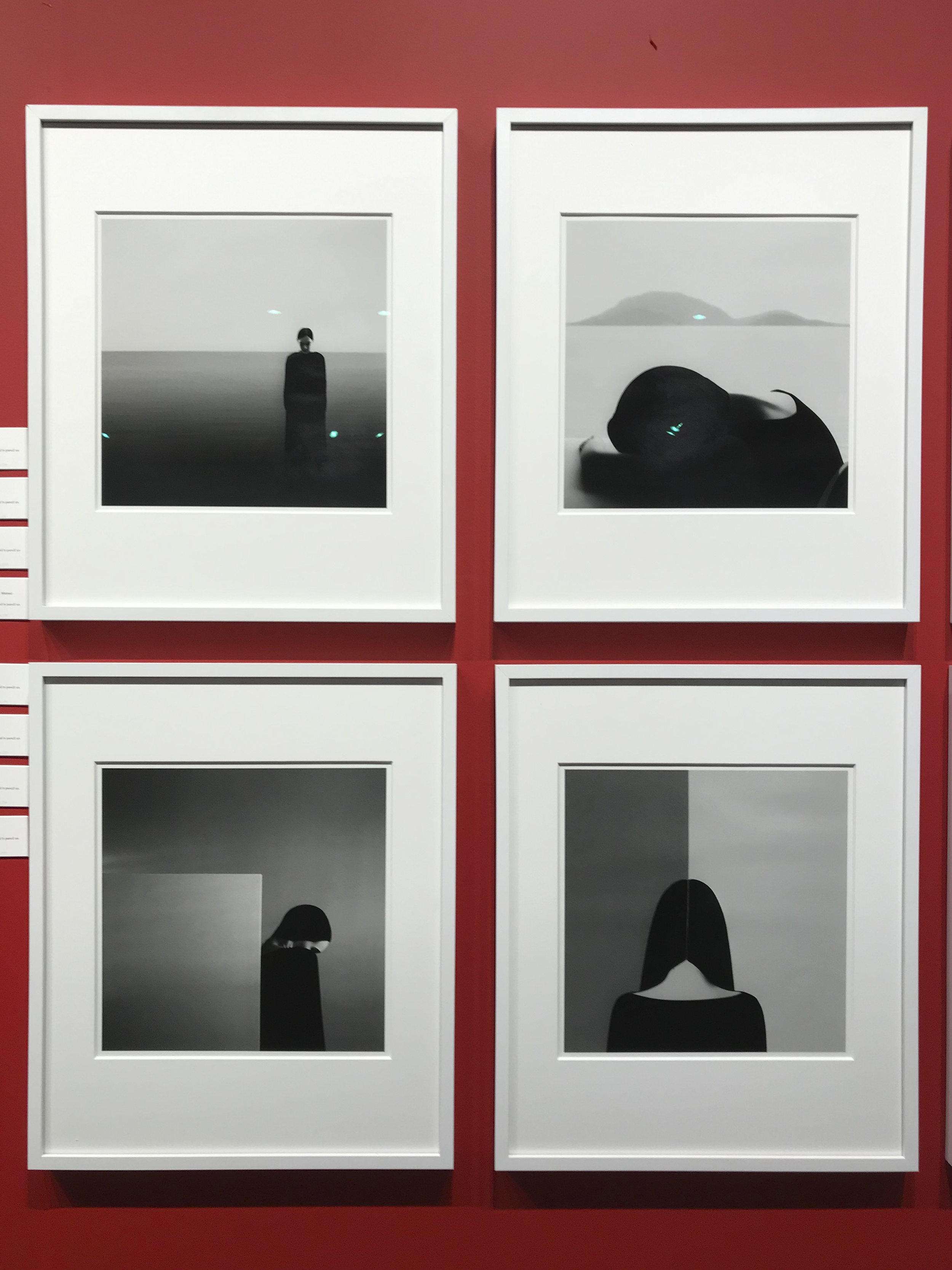 Noell Oszvald, Each piece is  Untitled , 2013-15, gelatin silver print, 14 x 14 inches