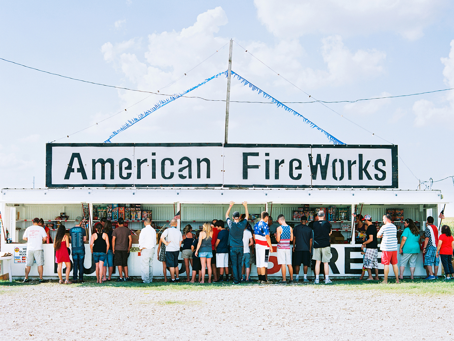 Fireworks Stand, Texas,  Matthew Johnson