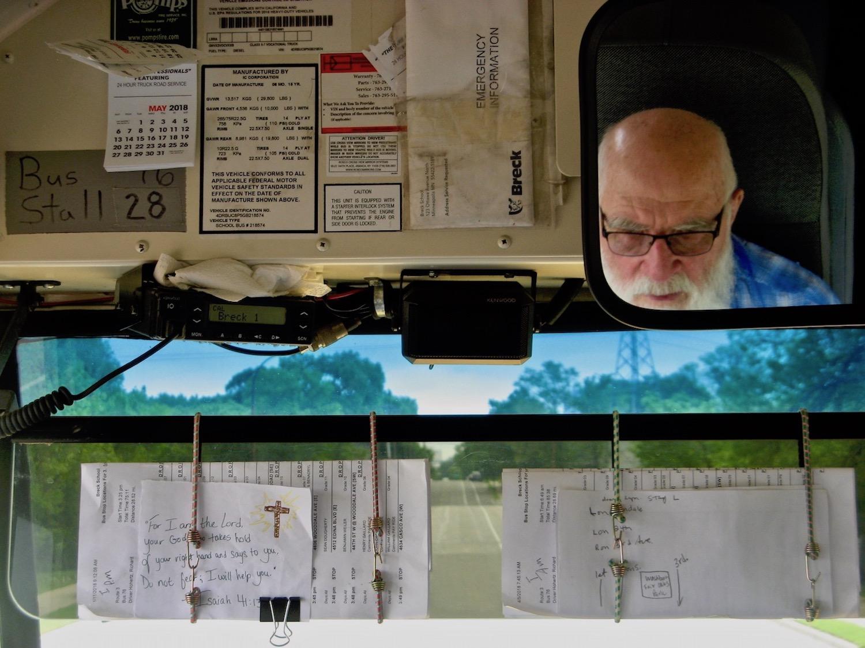 Portrait of a Bus Driver ,  Dallas Crow
