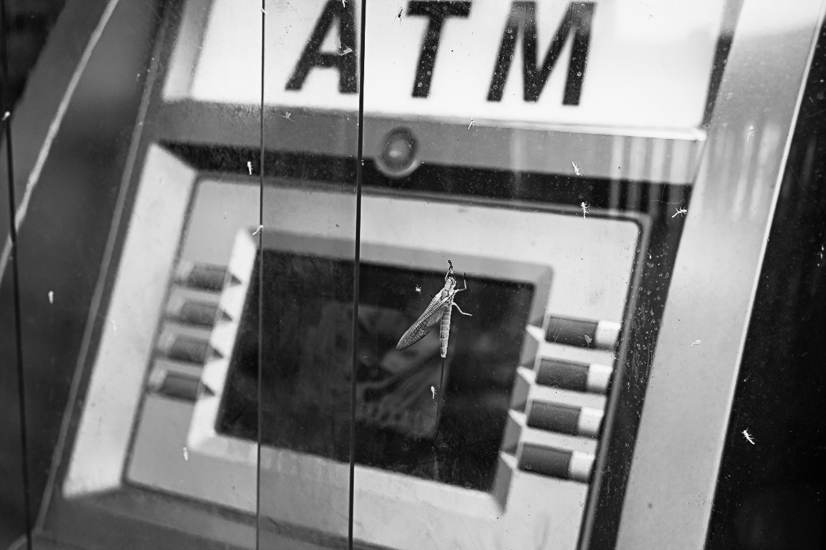 Fly at the ATM