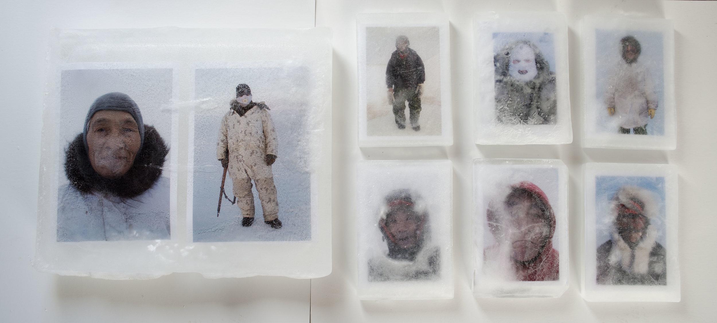 Arctic Passage  Installation by Louie Palu