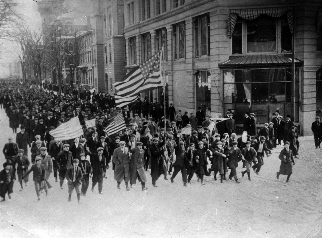 Labor Strike, Lawrence, Massachusetts