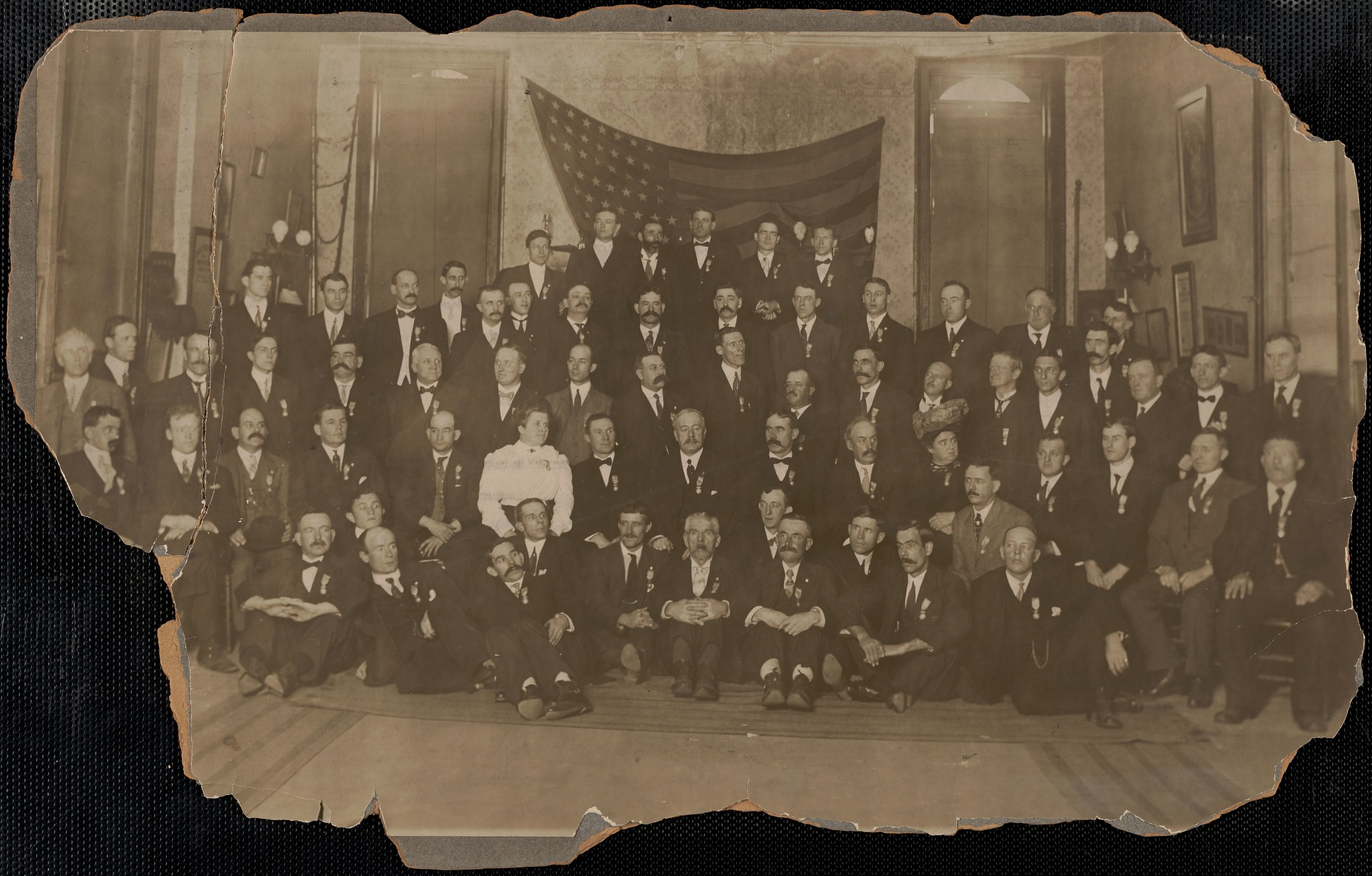 United Textile Workers of America Convention, 1910, New York, NY