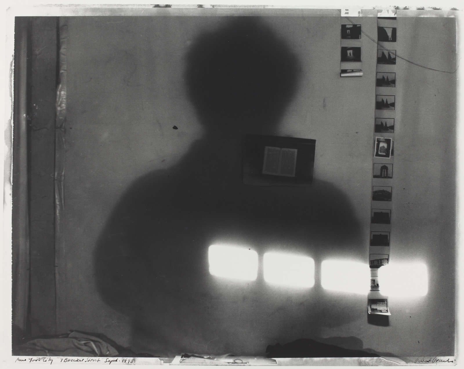 New York City, 7 Bleecker Street, 1993 . ©Robert Frank/National Gallery of Art, Washington, Robert Frank Collection