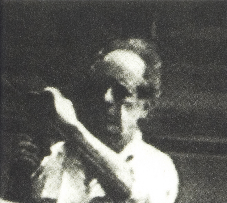 Robert Frank from the cover of  One Hour .