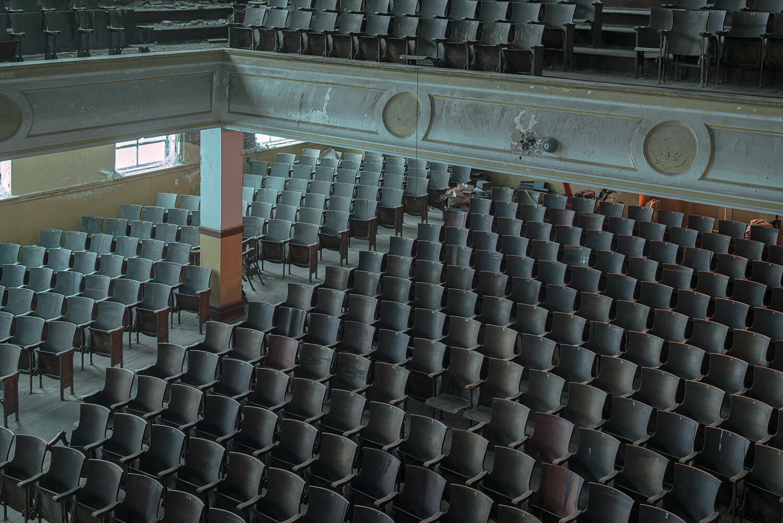 To the Head Majorette '62, J.W. Cooper High School Auditorium, Shenandoah, PA, 2014 ,  Andrew Wertz