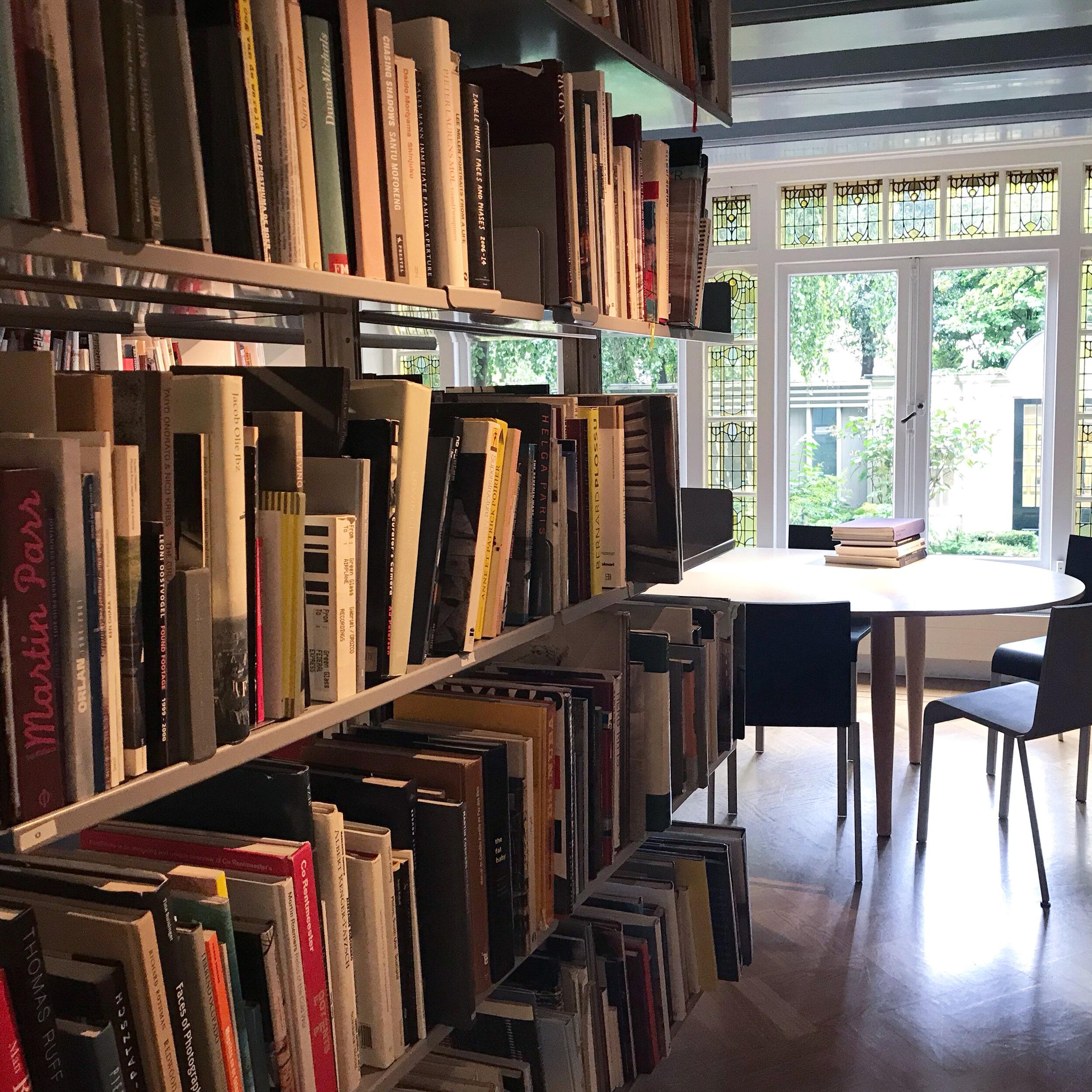 Huis Marseille  Reading Room