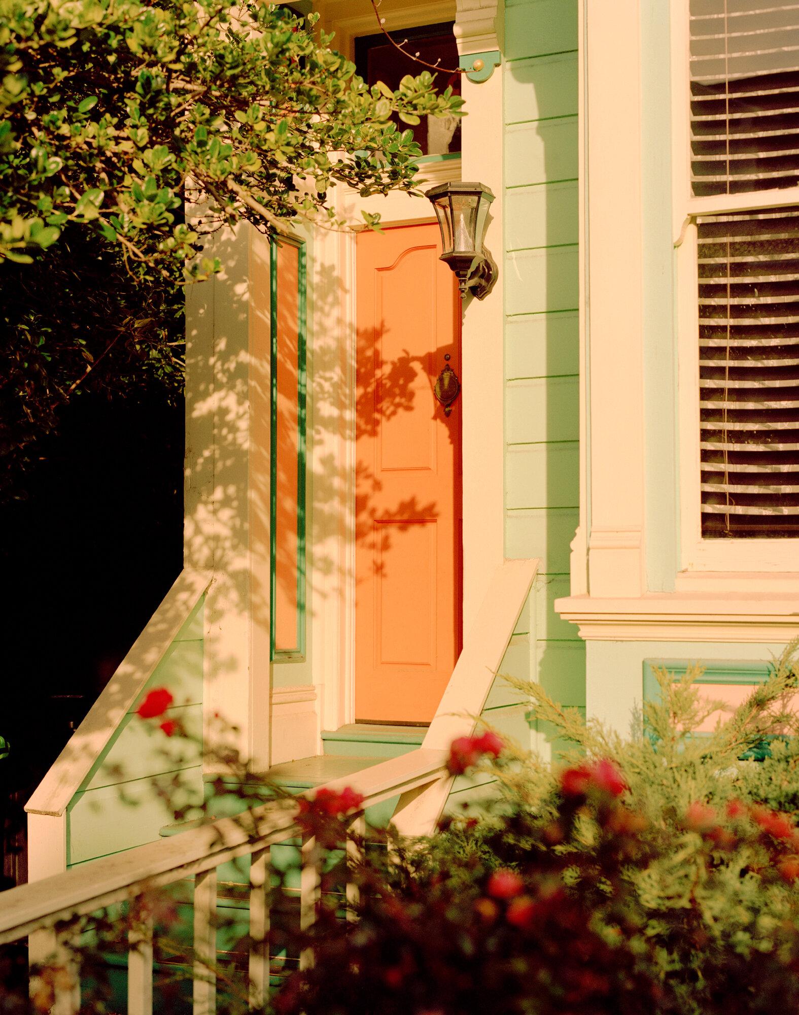 Bernal Heights Door, Flowers ,  Sam Wright