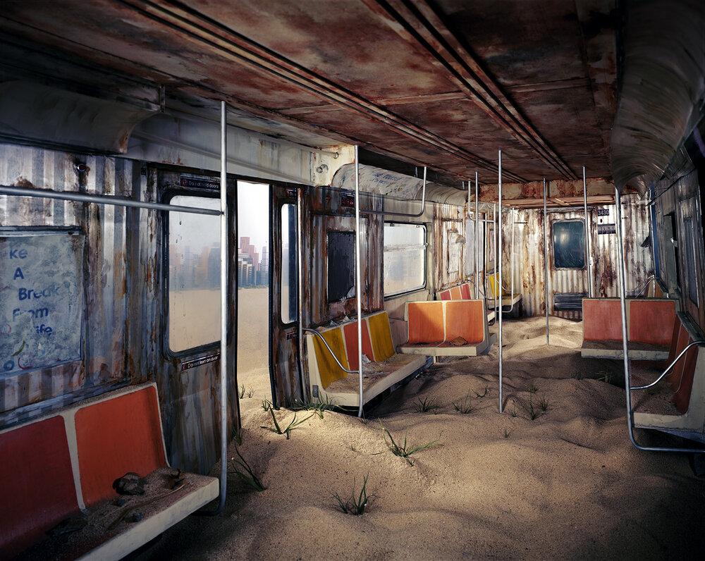 Subway ,  Lori Nix + Kathleen Gerber