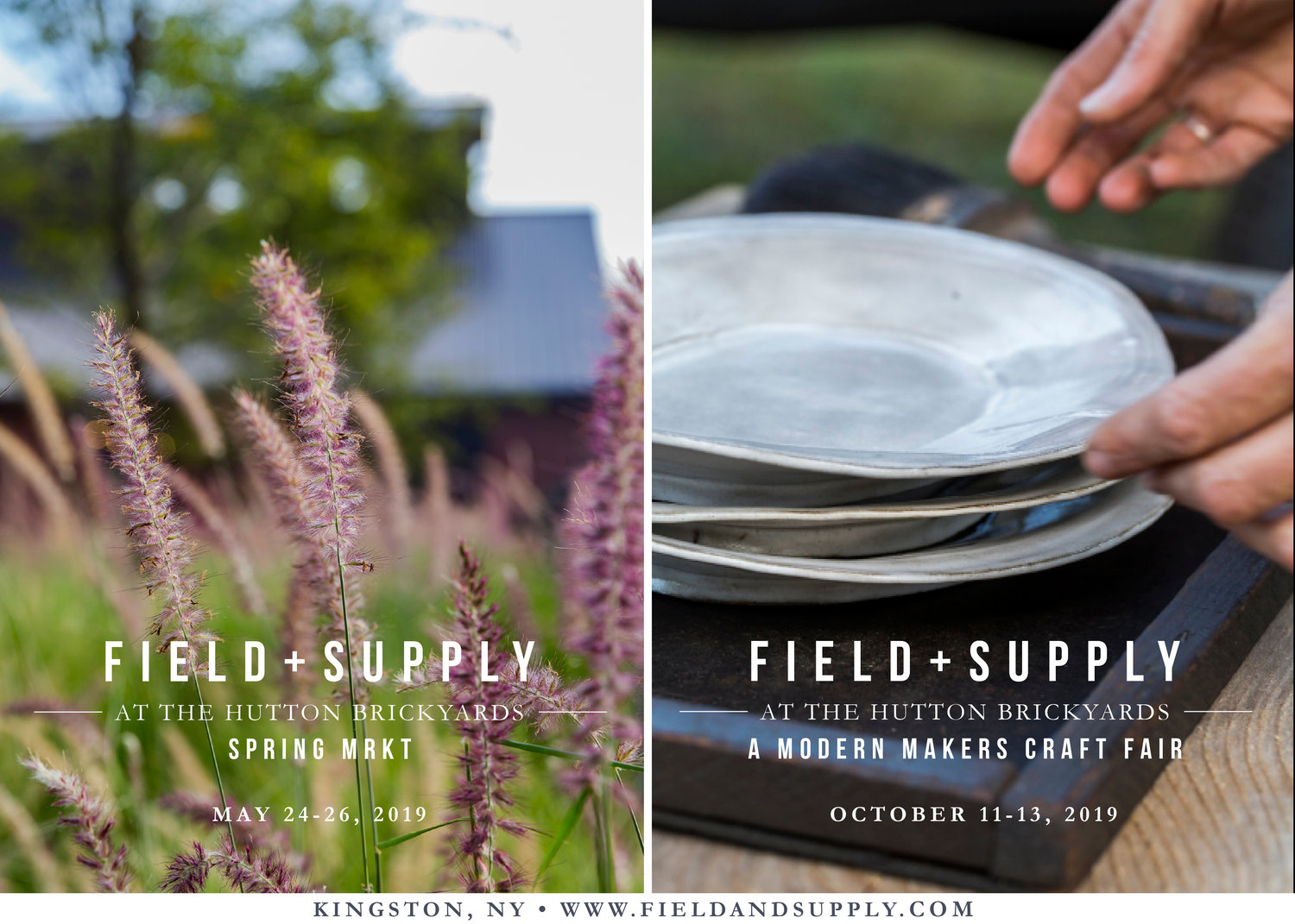 Join me and many other great makers and designers for this years FIELD + SUPPLY show, now in Spring and Fall!