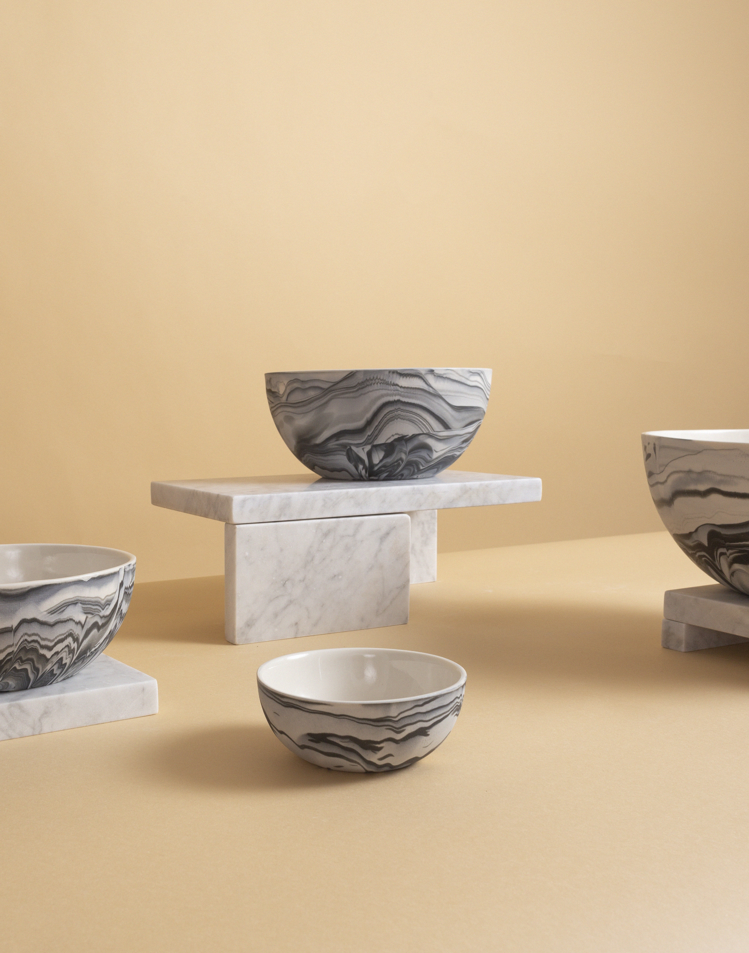 Carrara - Marbled Bowl