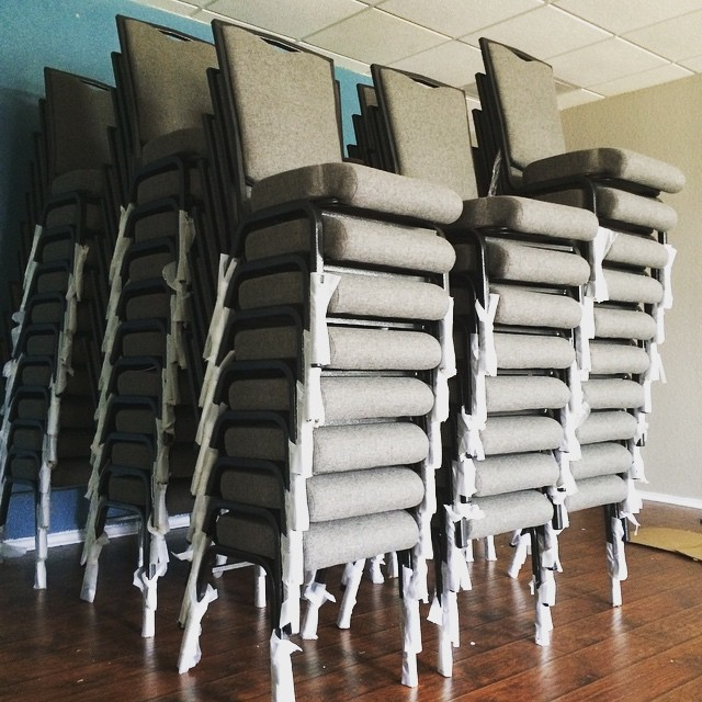 Day 1: The Chairs Arrive