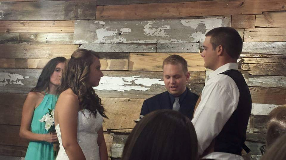 First Wedding at Collective Church!
