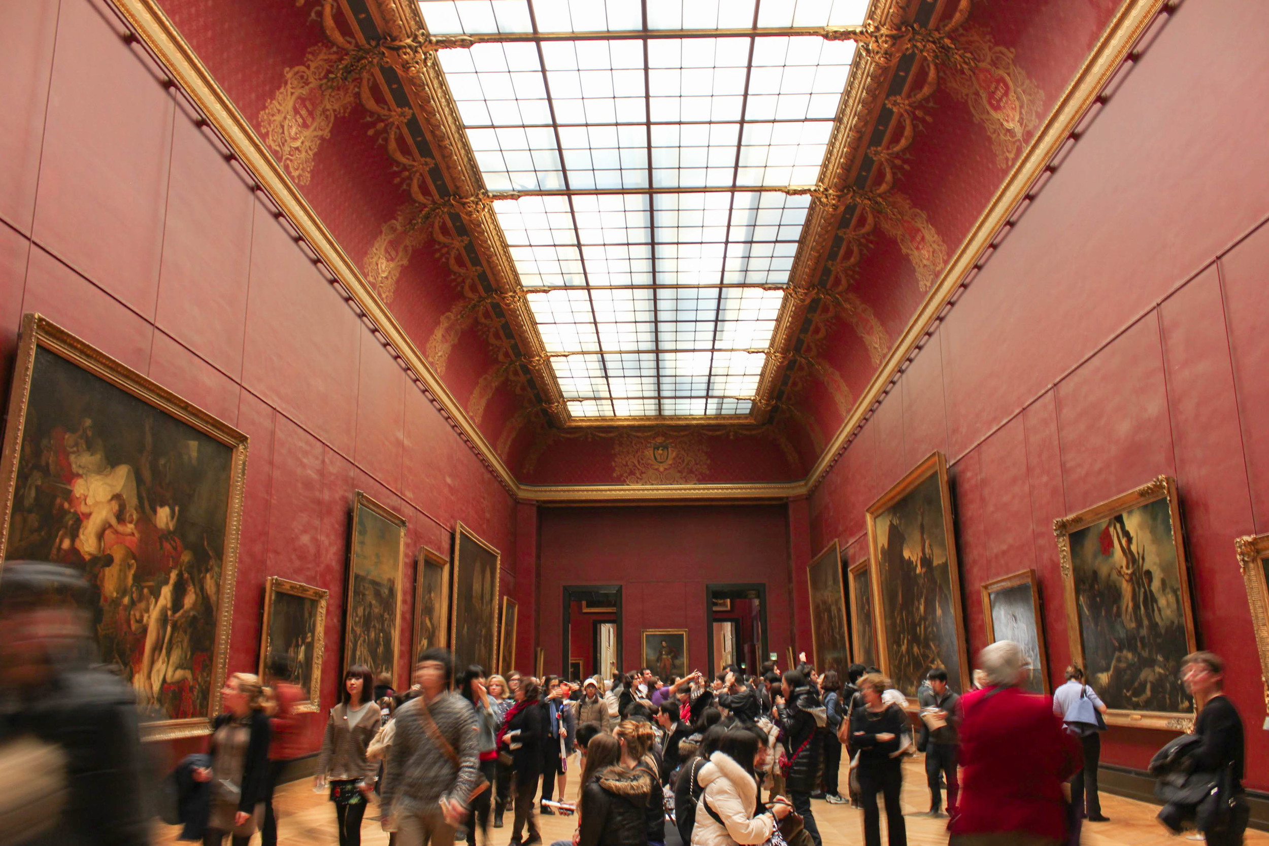 Louvre December 2013. Paris is a wonderful city to studying in!