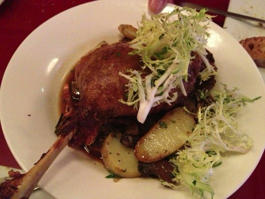Roasted Duck Leg...