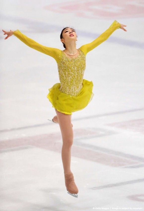 Yuna Kim 2014 Sochi Olympics. Courtesy of zsazsabellagio.blogspot.com.