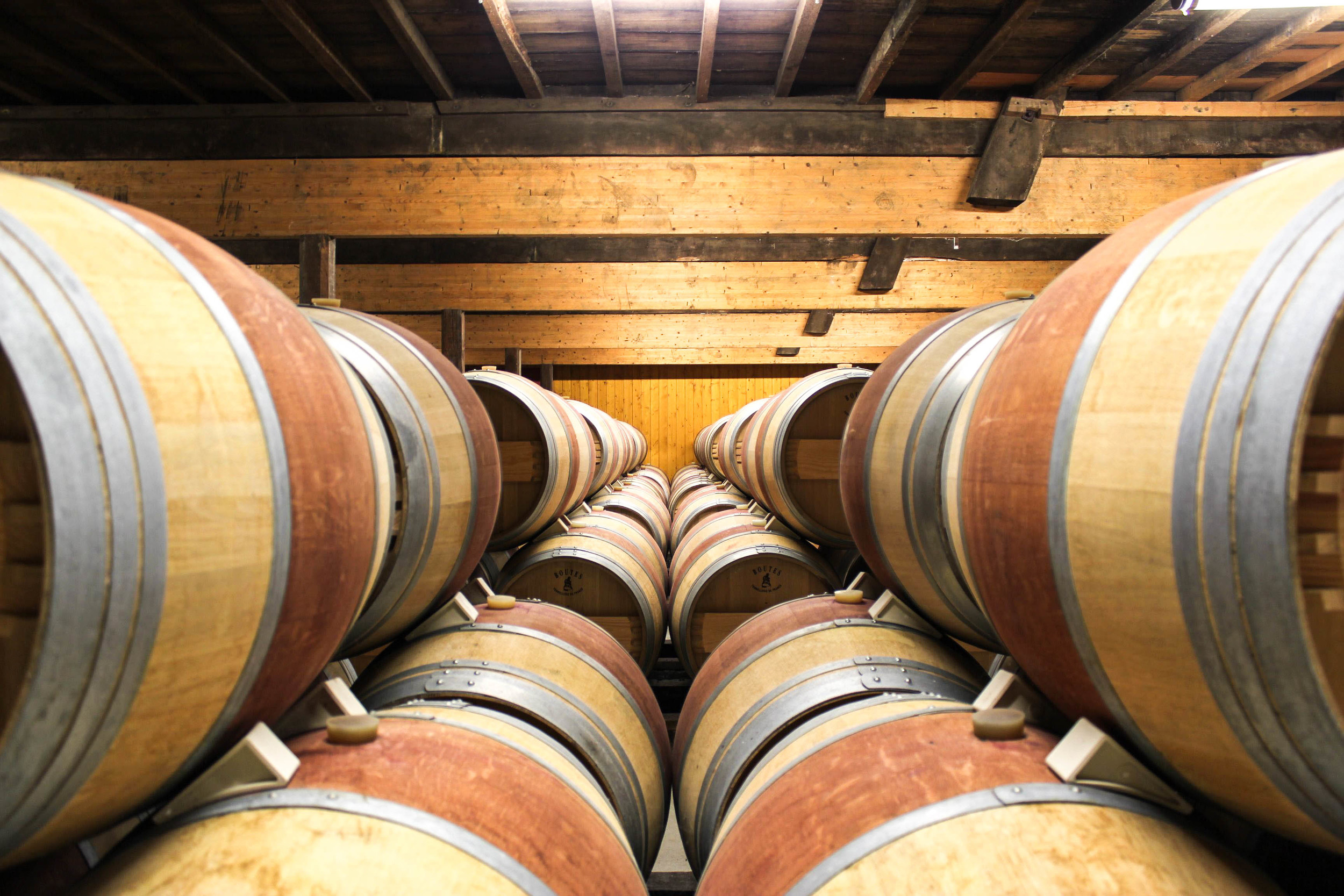 Oak Barrels for aging