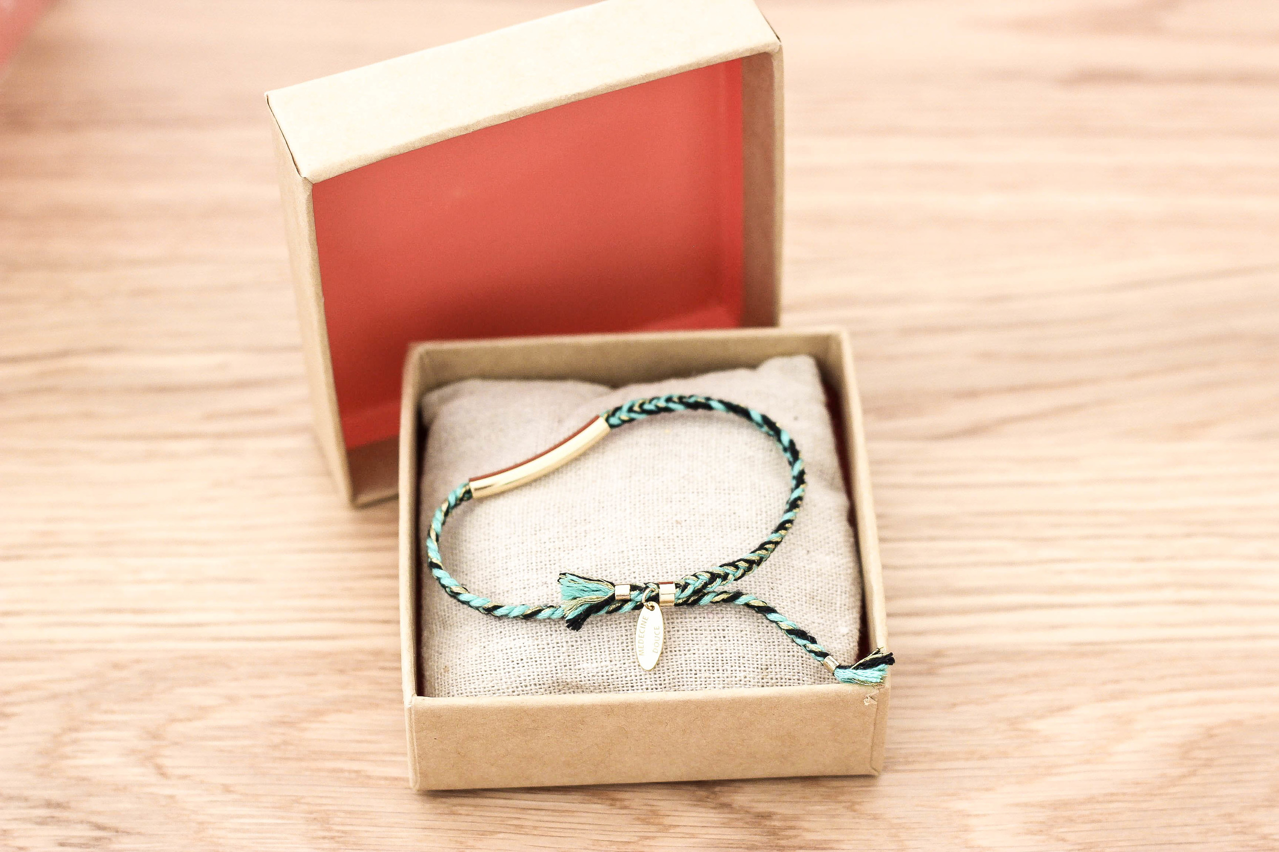 Bracelet from Medecine Douce.