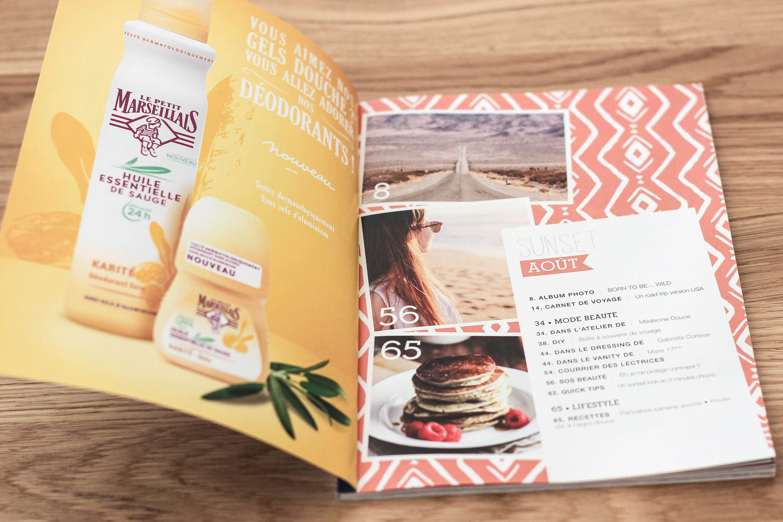 A wonderful magazine containing everything from recipes, DIYs, to interviews with fashion bloggers and the likes!