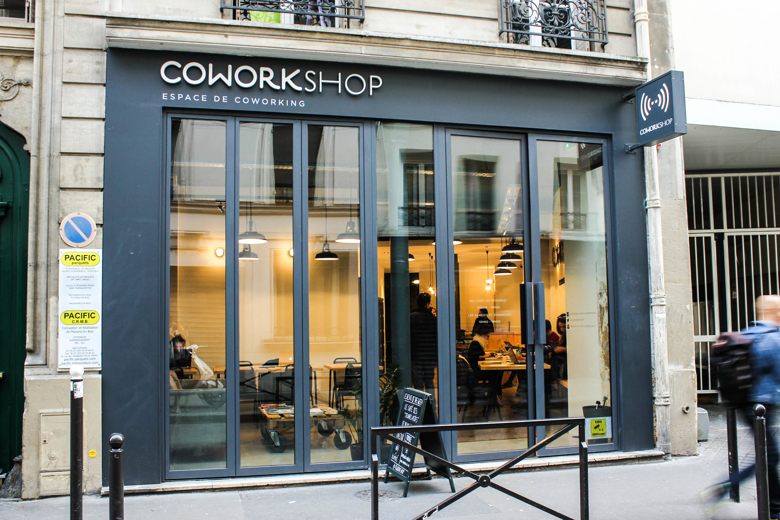 coworking cafe :)