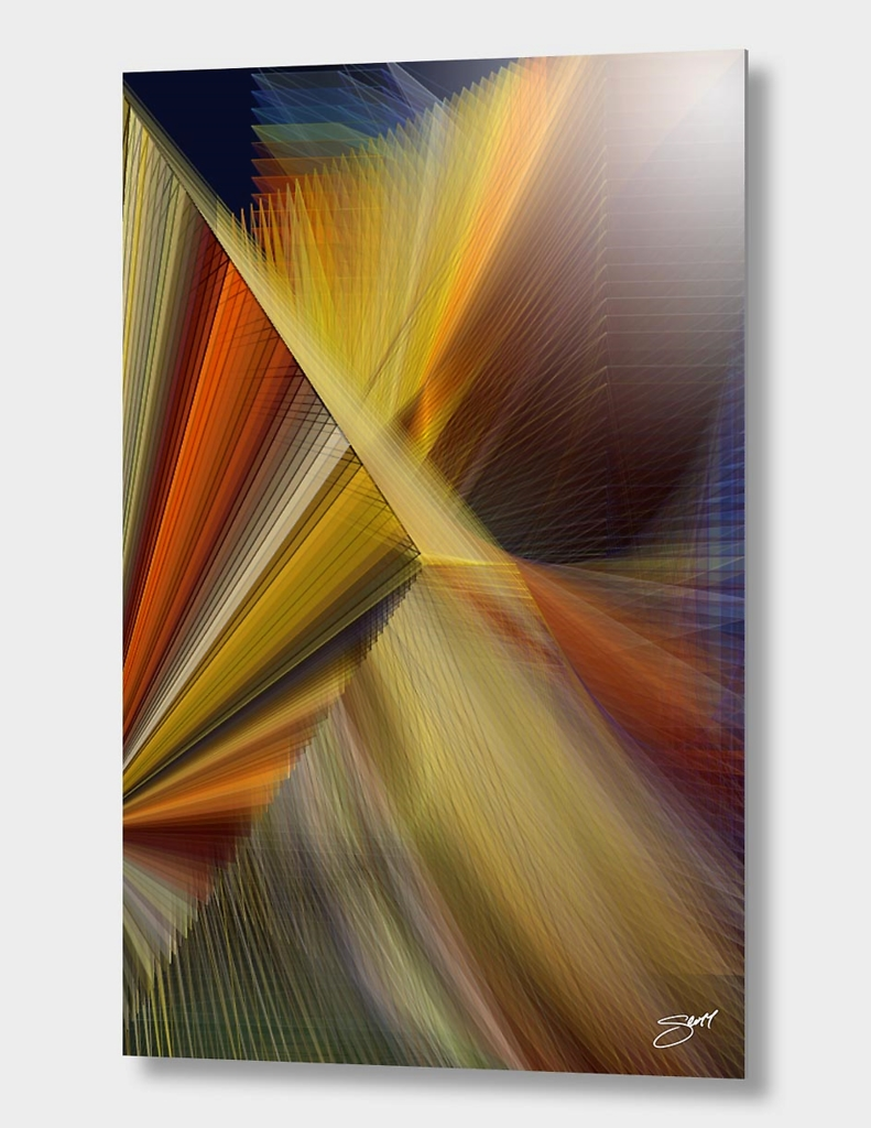 """I Charm Fate"" | Exclusive Edition Aluminum Print"
