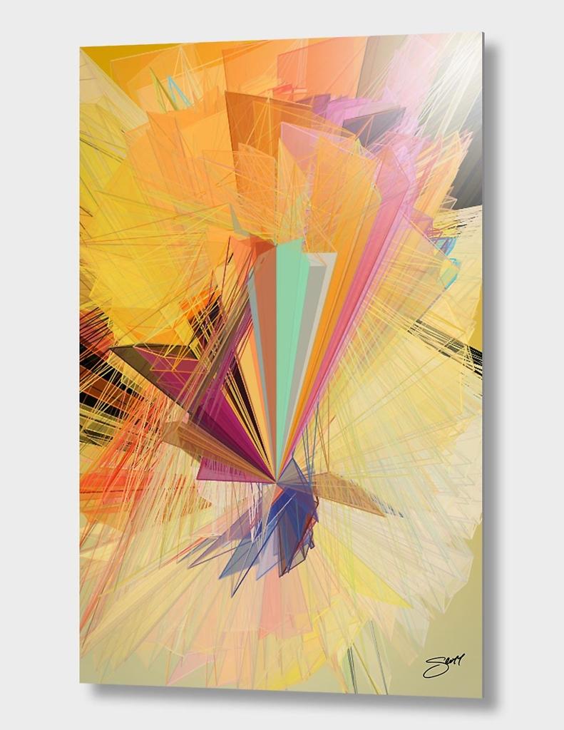 """Inspired"" | Exclusive Edition Aluminum Print"