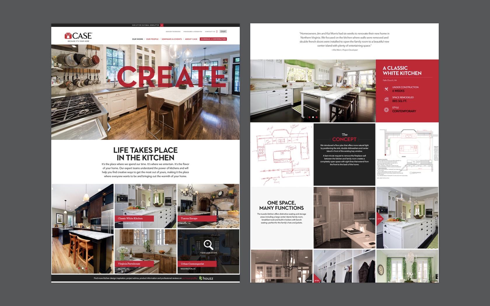 Case Design & Remodeling Website