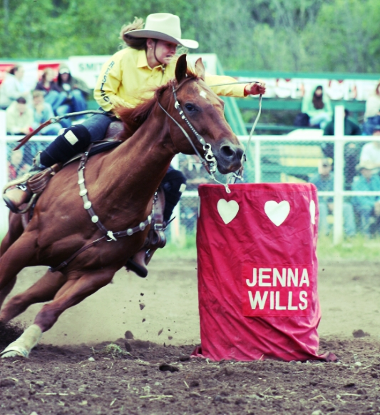 Pee Wee Barrel Racing   Photo Credit: Photographic Options - Wendy Perry
