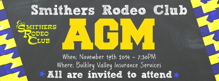 Smithers Rodeo Club AGM 2014