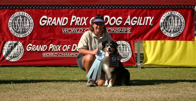 Erika and  Chase  , 2005 USDAA National Performance Championships Finalists