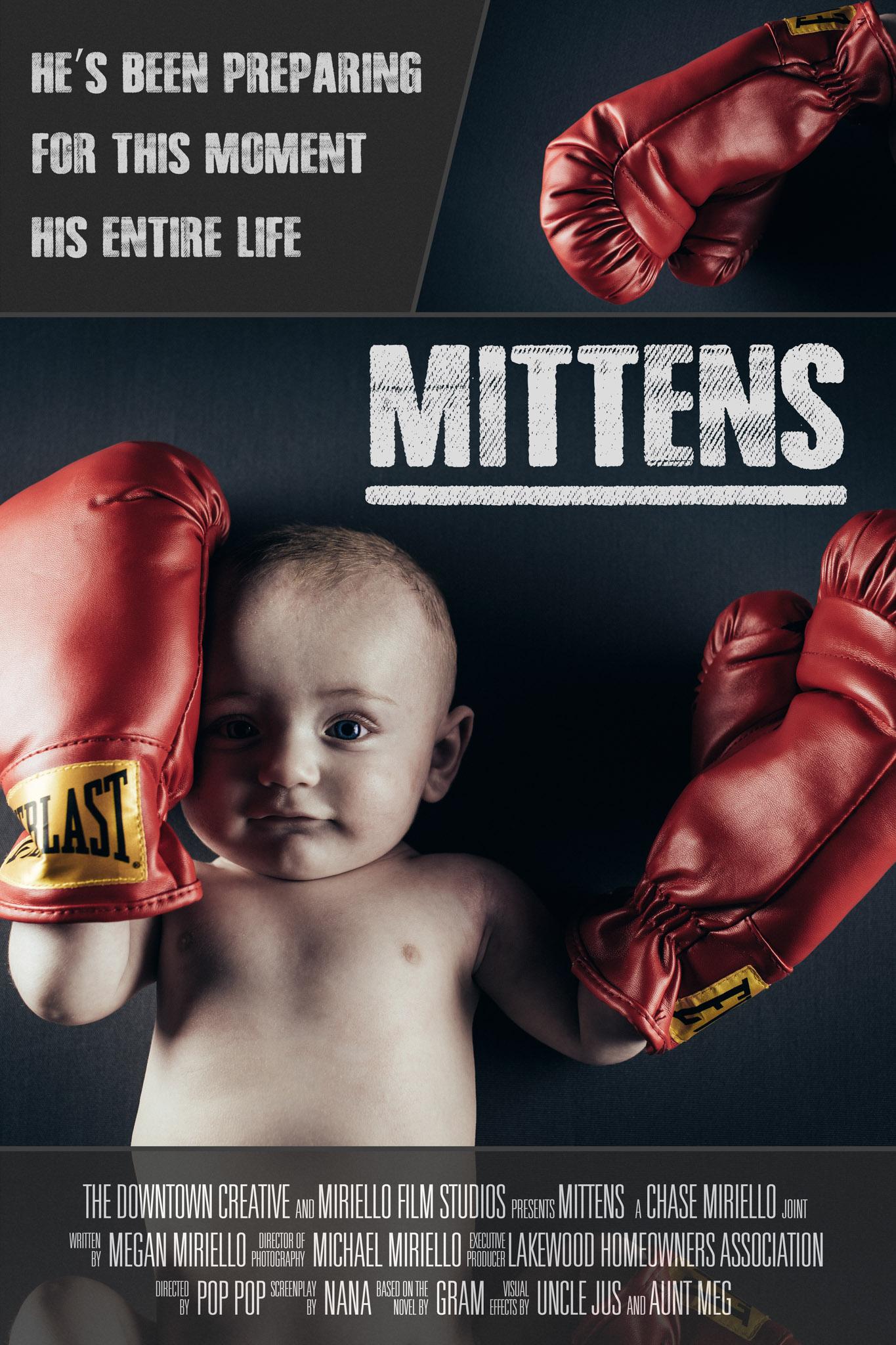 Fake Movie Poster Mittens