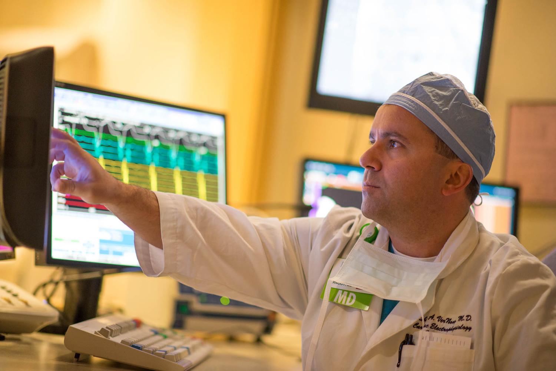 Corporate Photography in Harrisonburg Heart Surgeon