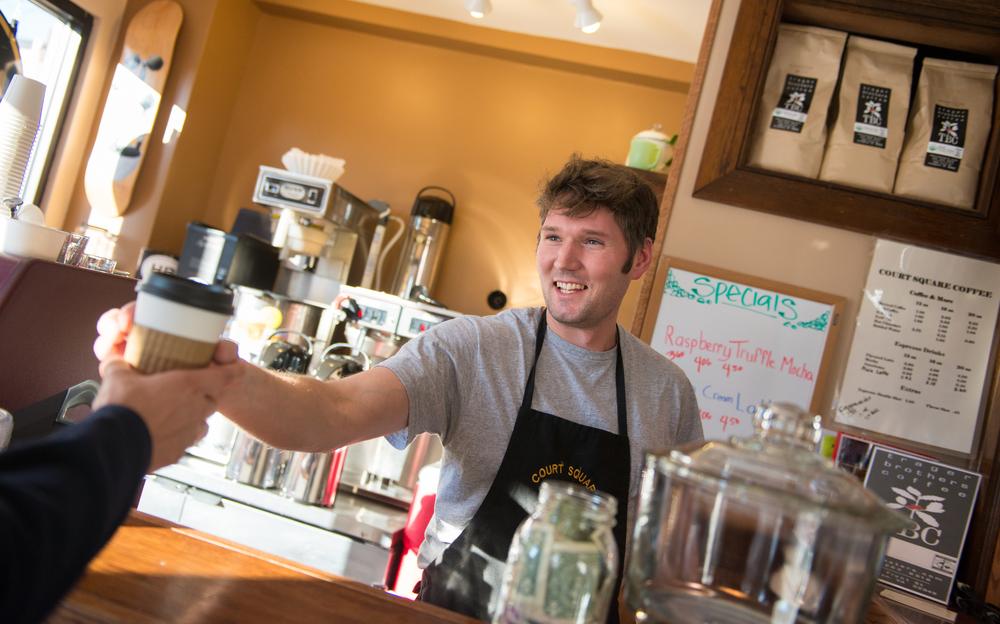 Corporate Photography in Harrisonburg Coffee