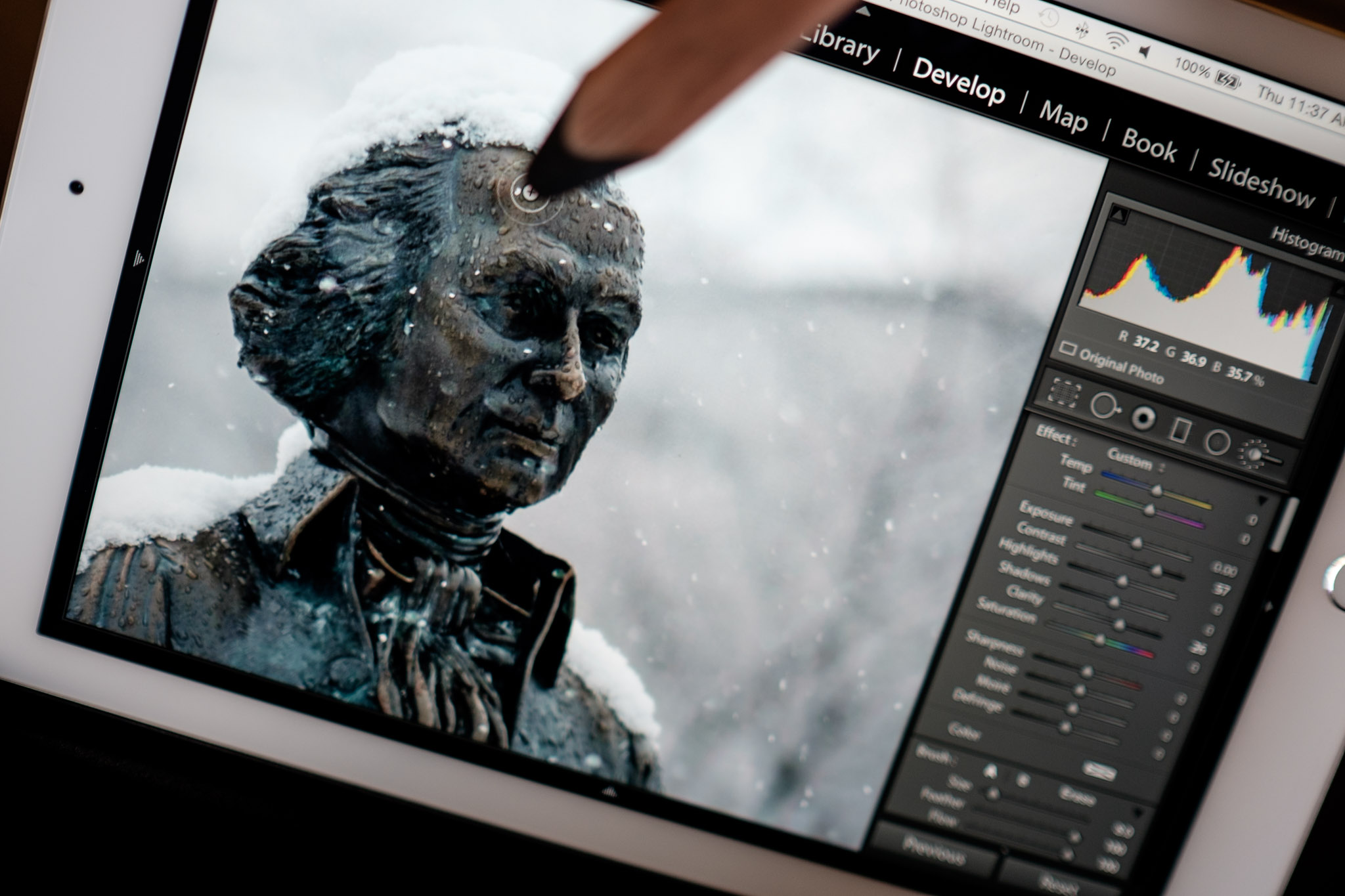 Duet Display Lightroom 2