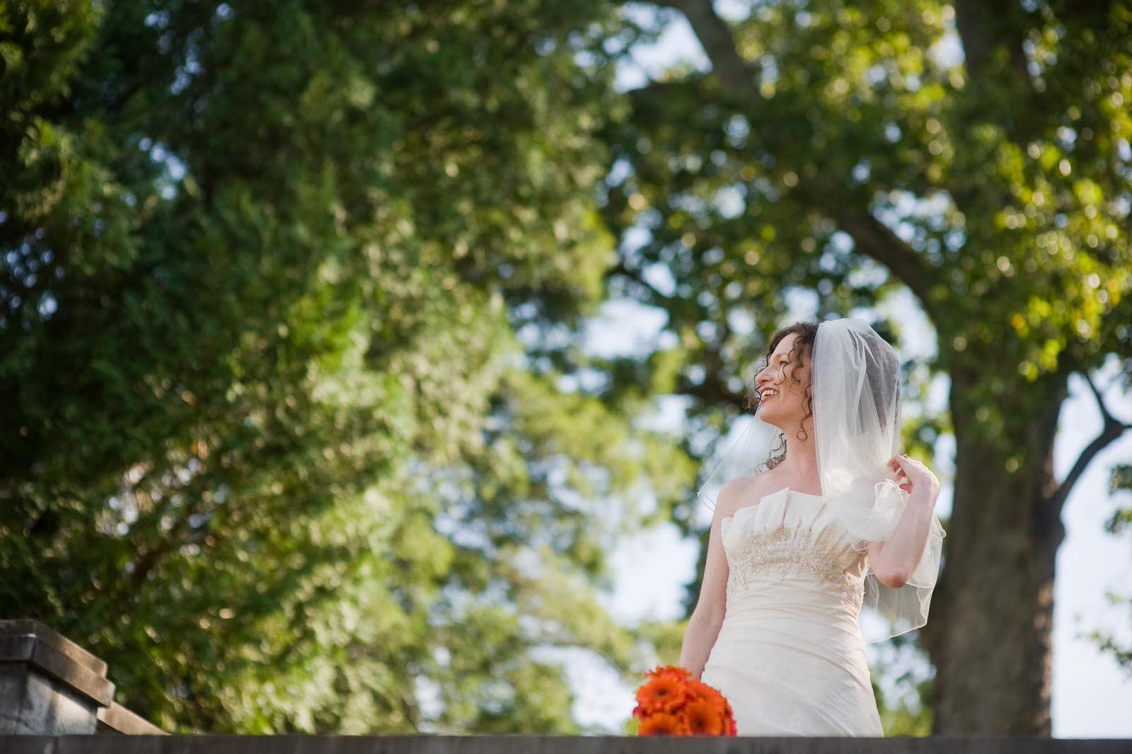 Bridal Portraits in Harrisonburg
