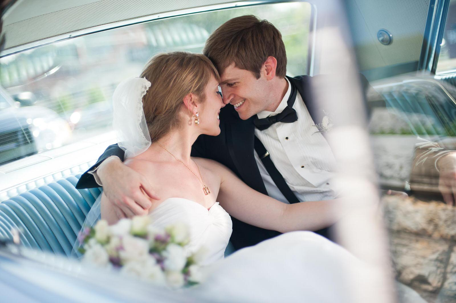 Couples Photography in a Classic Car
